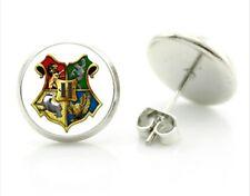 Harry potter stud earrings Harry potter house badge birthday Christmas ER2