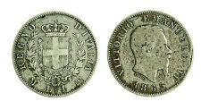 pcc1761_5) Vittorio Emanuele II  (1861-1878) 1 Lire Stemma 1863 M