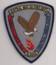 Patch Central Mat - su Fire Department Wasilla Alaska USA Feuerwehr