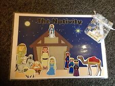 The Nativity Interactive Resource Set with labels childminder school nursery res