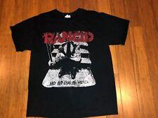 Vintage 1996 Machete Rancid Shirt And Out Come The Wolves Sz Large Vtg