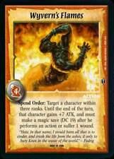 Warlord CCG - Warlord Saga of the Storm: Wyvern's Flames (Rare Action DB)