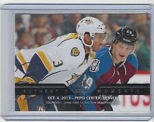 2013-14 NATHAN MacKINNON & SETH JONES SP AUTHENTIC AUTHENTIC MOMENTS #191