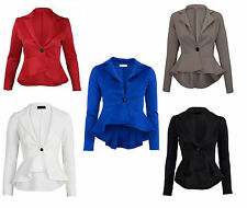 Unbranded Polyester Button Coats & Jackets for Women