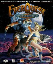 EverQuest: Shadows of Luclin Pc Factory Sealed Retail Big Box Role Playing Game