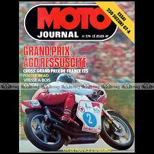 MOTO JOURNAL N°274 GP ASSEN TAKAZUMI KATAYAMA ANGEL NIETO HONDA CAMINO 50 1976
