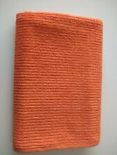 Extra Large Oversized Bath Towels Orange 100% Cotton Turkish Towels Hotel Spa