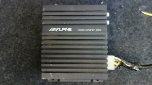 Alpine 3503 Compact 2-Channel Amplifier. Old School Sound Quality Amplifier