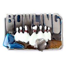 Vintage Bowling Men's Belt Buckle (BOL-01)