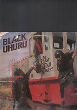 "BLACK UHURU - the great train robbery EP 12"""