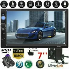 7 Inch DOUBLE 2DIN Car MP5/MP4 Player BT Tou+ch Screen Stereo Radio HD+Camera AA
