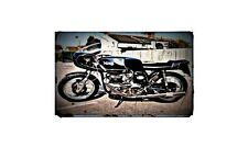 1969 norton dunstall Bike Motorcycle A4 Photo Poster