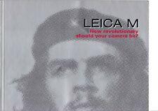 GENUINE 1999 LEICA M CAMERA HOW REVOLUTIONARY SHOULD YOUR CAMERA BE BOOKLET