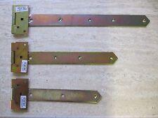 Türbänder Laden Torband Kreuzgehänge Scharnier 300 mm schwer  gelb verzinkt