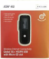 Option iCon 452 3G Broadband USB Modem