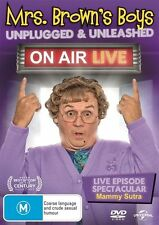Mrs Brown's Boys: On Air Live - James Farrell NEW R4 DVD