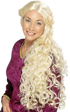 Renaissance Wig, Blonde, Very Long, Skin Parting COST-ACC NEW