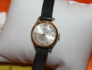 VULCAN AUTOMATIC VINTAGE WOMANS WRISTWATCH 17 JEWELS f97