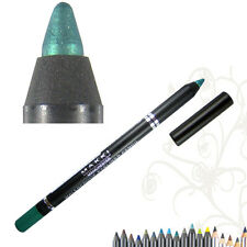 Crayon Eyeliner Turquoise Metallique Paillette Brillant Waterproof