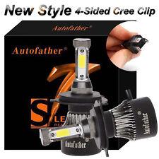 Autofather 240W H4 9003 HB2 LED Headlight Bulb High/&Low Beam Kit 6500K HID White