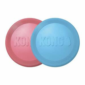 Brand New KONG-Puppy Flyer-Teething Rubber, Flying Disc Dog Toy-for Small Puppy