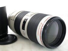 Canon EF 70-200 mm 2.8 L IS II USM TELE Mark 2 Vollformat Garantie 1 an