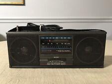 Realistic Am/Fm Stereo Mate Radio Mini Boom Box Portable Model 12-722 With Cord