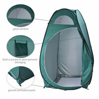 Portable Folding Outdoor Camp Toilet Large Pop Up Tent Privacy Shelter Camping