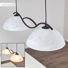 Lampe à suspension Style Campagne Plafonnier Lustre Lampe pendante Verre 173879