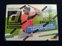 2020 Donruss MLB Baseball Blaster Box 88 Trading Cards Per Box Alvarez|Bichette