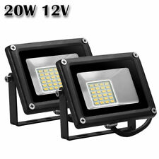 2X 20W 12V LED Flood Light Warm White Outdoor Garden Yard Spot Lamp Waterproof