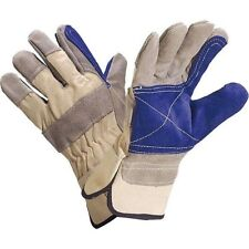 Delta Plus Cowhide Reinforced Rigger Safety Gloves Strengthen Palm&Thumb DS202RP