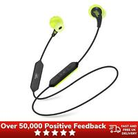JBL Endurance Run Headphones Sweatproof Wired Sports In-Ear Headphones - Yellow