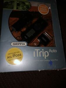 Griffin iTrip Auto FM Transmitter and Auto Charger for iPod (Black)