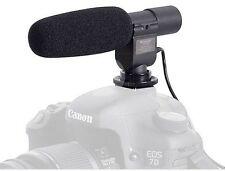 SG-108 Shotgun DV Stereo Microphone for Nikon SLR D90 D300S D7000 D5300 Camera