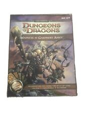 Dungeons & Dragons D&D 4th Edition Madness At Gardmore abbey Rare Oop