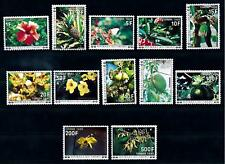 [66581] Comores Comoros 1977 Flora Flowers Blumen Tax Stamps  MNH