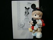 Precious Moments-Disney Dreamer-Boy/Mickey Mouse Doll-Mouse Ears/Watch/Backpack