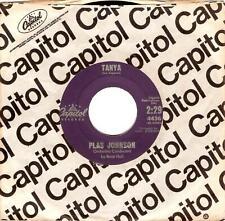PLAS JOHNSON Tanya Vinyl Record 7 Inch US Capitol 4436 1960