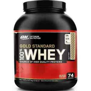 OPTIMUM NUTRITION GOLD STANDARD 100% WHEY PROTEIN - 5 FLAVOR - 5LB FREE SHIPPING