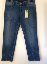 BNWT 100% auth Stella McCartney, Blue Cropped Cigarettes Jeans 28 RRP £290
