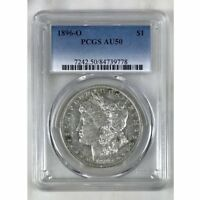 1896 O Morgan Dollar PCGS AU50 *Rev Tye's* #9778108