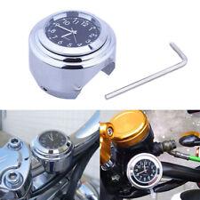 New Handlebar Clock Waterproof Motorcycle Motorbike Handlebar Mount Clock Watch