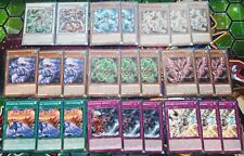 Lot de cartes Crystron ULTRA RARE, SUPER RARE Yu-Gi-Oh! FR