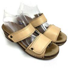 SANITA Two Adjustable Straps Slides Comfort Women's Sandals Sz 8/39