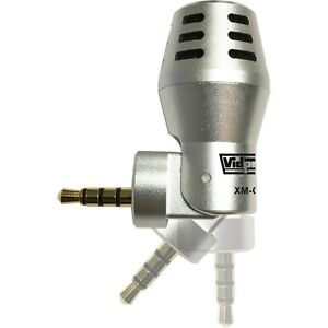 Vidpro XM-C Omnidirectional Condenser Microphone for iPhone, iPad, & iPod Touch