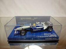 MINICHAMPS  WILLIAMS BMW FW23 2001 SAN MARINO - SCHUMACHER - F1 1:43 - GOOD