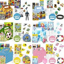 Boys Girls Party Gift Bags Childrens Birthday Loot Party Bag Fillers Toy