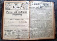 Cham 1908 Zeitung kompletter Jahrgang Chamer Tagblatt Kurier alt Oberpfalz bayer