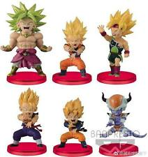 Banpresto Dragon Ball Z World Collectable Figure WCF Battle of Saiyans Vol 4 Set